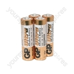 GP Ultra Alkaline Batteries - batteries, AA, 1.5V, packed 4 /blister