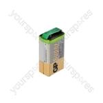 GP Alkaline Batteries Bulk Pack - 9V(PP3) 10pcs