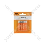 NiMH Rechargeable Batteries - AAA 1100mAh battery/4 - AAA11