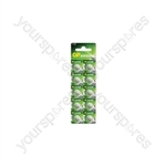 LR54 (189) Alkaline Button Cell - 10 Pack - 10pk