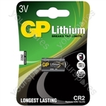 Lithium Photo Cells - cell, CR2, 3V, packed 1 per blister - 15.6 x 27mm