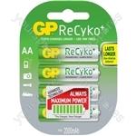 GP Recyko+ NiMH Rechargeable Batteries - Batteries, 2100mAh, 4 x AA