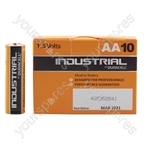 Duracell Industrial Battery Range - AA 10pcs