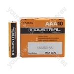 Duracell Industrial Battery Range - AAA 10pcs