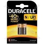 Duracell Battery LR1 - 2 Pack