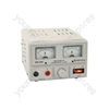 Regulated Power Supply with Variable Output Voltage 0-20V/2A Max - (UK version) 0-20V - RPS-V40
