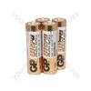 GP Ultra Alkaline Batteries - batteries, AA, 1.5V, packed 4 /blister