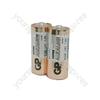 GP Super Alkaline - batteries, N, 1.5V, packed 2 /blister