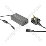 12Vdc In-line Power Adaptor / LED Driver - Indoor PSU 3A - DC1236UK