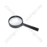 Handheld Magnifier - Magnifier, 65mmØ Glass Lens, 6x - PMS-054