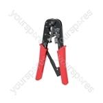 Ratchet Modular Crimping Pliers (6P & 8P)