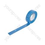 Insulation Tape - 19mm x 20m - PVC20BLU Electrical tape, 20m, blue