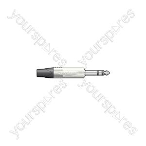 Neutrik® NP3X 6.3mm Professional all metal stereo plug - NP3X