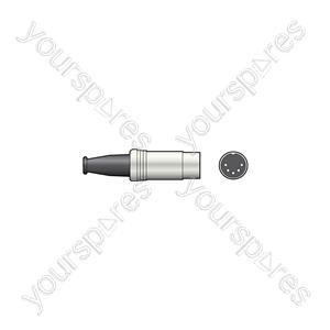 DIN plug, 5-pin (180°)