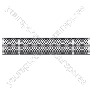 6.3mm Mono Jack Socket - 6.3mm Mono Jack Socket - Adaptor to