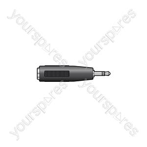 2.5mm Stereo Jack Plug - 3.5mm Stereo Jack Socket - WE1182A Adaptor to