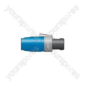 Neutrik® NL2FX Cable Connector with Latch Lock - NL2FX, 2-pole Speakon Plug Bulk