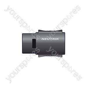Neutrik® NL4MMX 4 Pole Coupler - NL4MMX, 4-pole Speakon® In-line Coupler, Bulk