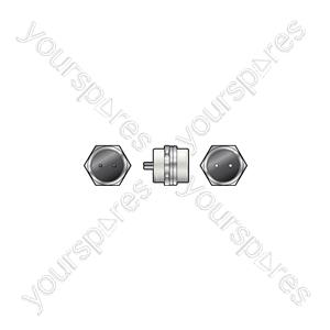 Multi pin chassis plug 8-pin