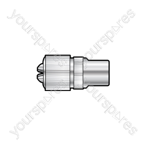 Nickel plated precision coaxial plug