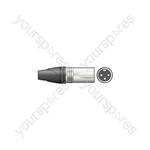Neutrik® NC3MXX 3-pole XLR Line Connector - Plug, Bulk