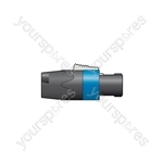 Neutrik® NL4FX Cable Connector with Latch Lock - NL4FX, 4-Pole Speakon Plug, Bulk