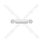 3-pin XLR Male - 3-pin XLR Male - Coupler to