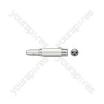 3-pin XLR Female - 6.3mm Mono Jack Socket