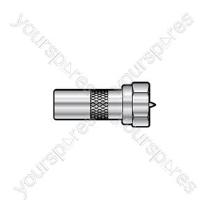 F Plug - Coax Plug - Adaptor to TV