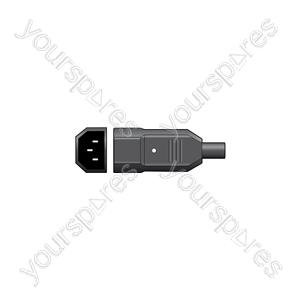 IEC In-line Plug C14 - 3 Pin