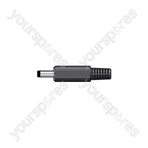 DC plug, 1.3 x 3.5 x 10mm