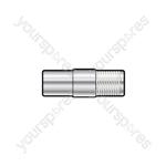 F Socket - Coax Plug - WE1722 Adaptor to TV