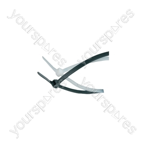 Cable Ties - 100Pcs - CTB25200 2.5 x 200mm, black bag of