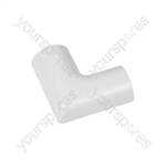 Clip-over trunking accessories 30x15 - Flat Bend 30x15mm Bag of - FLFB3015W-5PK