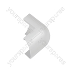 Clip-over trunking accessories 30x15 - white External Bend 30x15mm Bag of - FLEB3015W-5PK
