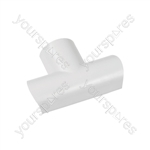 Clip-over trunking accessories 30x15 - white Equal Tee 30x15mm Bag of - FLET3015W-5PK