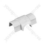 D-Line Smooth Fit adaptors 30x15 - Cable Outlet 30x15mm Bag of - CO3015W-5PK