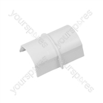 D-Line Smooth Fit adaptors 50x25 - Coupler 50x25mm Bag of - CP5025W-5PK