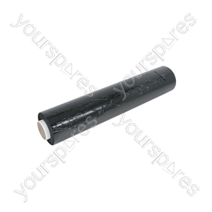 Pallet Wrap - Black Opaque - Hand Wrap, Opaque, 500mm x 250m, 23 microns