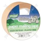 Paper Mailing Tape - Plastic Free - 36mm x 50m - PAPER-TAPE36
