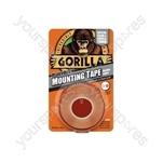 Gorilla Mount Tape - Clear 1.5m - GMTC15