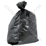 Refuse Sack - Black Sack, 457 x 730 x 850mm, 32 microns