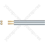Standard Figure 8 Speaker Cable - Cable, 2 x (7 x 0.18mmØ)