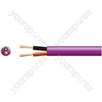 Hi Flex Double Insulated Low Smoke Speaker Cable - cable, 2 (24 0.2mmØ) LSZH