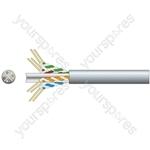 Cat6 U/UTP Network Cable - 100m Grey