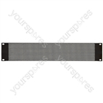 "Perforated Rack Blanking Panels 19"" - 2U"