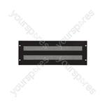 "Perforated Rack Blanking Panels 19"" - 4U"