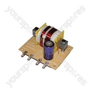 Subwoofer Filters - filter, 12dB, 120Hz, 4 Ohms, 600W
