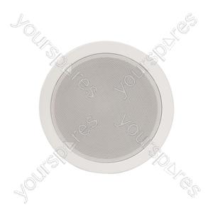 Metal Quick Fit 100V Ceiling Speakers - 5.25in 6W - EC56V