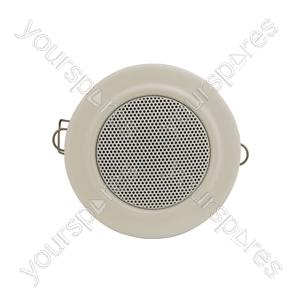 """Compact 2.5"""" 100V Ceiling Speaker White - Inch - CM-VW"""